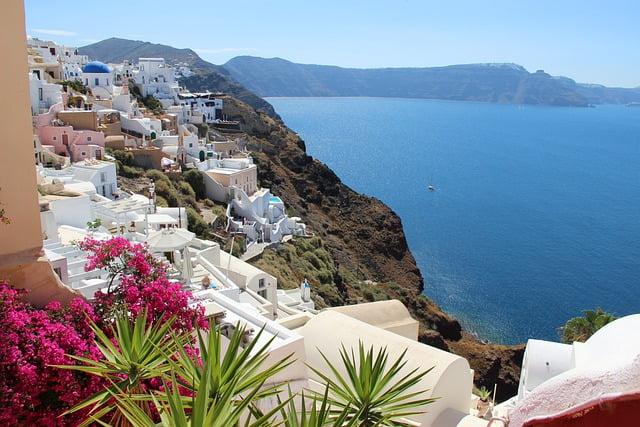 סנטוריני יוון